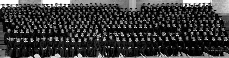 Graduation Picture of Class of 1960